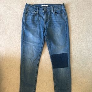 Levis Super Skinny Jeans, barely worn!